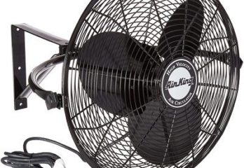 5. Air King Wall Mount Fan