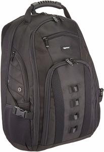 5. Amazon Basics Travel 17 Inch Laptop Computer Backpack