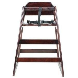 5. Excellent Wooden High Chair
