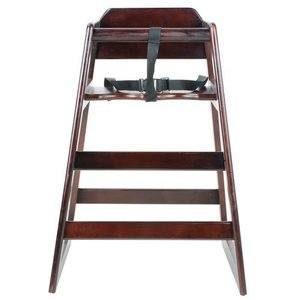5. Excellent Wooden High Chair