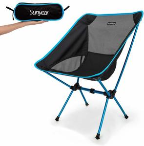 5. Sunyear Folding Camping Backpack Chairs