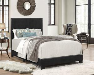 6. Crown Mark Panel Bed