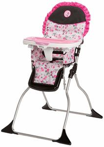 6. Disney Baby Minnie Mouse Simple Fold Plus High Chair
