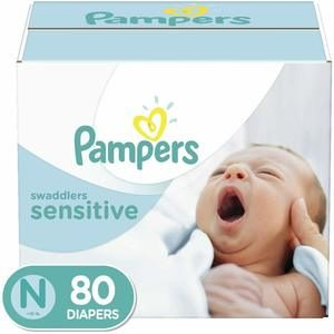 6. Pampers Swaddlers Sensitive Disposable Baby Diapers