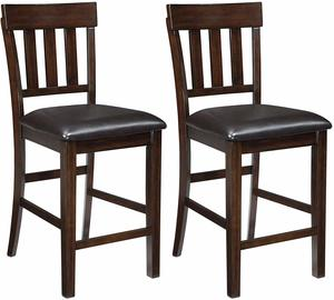 6. Signature Design by Ashley - Haddigan Counter Barstool - Set of 2