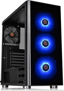 6. Thermaltake V200 Tempered Glass RGB ATX Mid-Tower Chassis