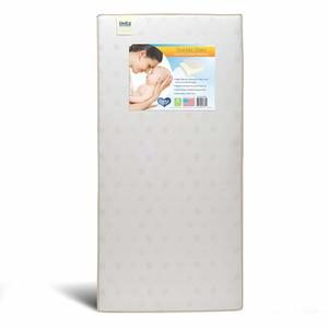 7. Delta Children Twinkle Stars Fiber Core Crib and Toddler Mattress