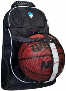 7. Hard Work Sports Basketball Backpack with Ball