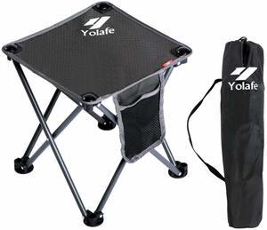 Portable Plastic Stool for Fishing Hiking BBQ Picnics Stool Max Load 330 lb // 800 lb Retractable Foldable Stools Seat Chair Adjustable Camping Stool FitTrek Folding Stool