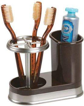 7. mDesign Toothbrush Holder