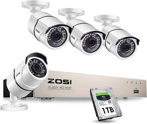 7ZOSI PoE Home Security Camera System with 1TB Hard Drive