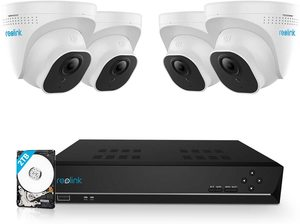 #8 Reolink5MP PoE Security Camera System