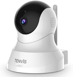 #8 TENVIS Security Camera- Wireless Camera