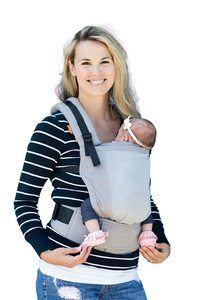8. Baby Tula Free-to-Grow Coast Mesh Baby Carrier 7-45 lb