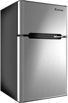 8. COSTWAY Mini Freezer