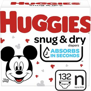 8. Huggies Snug & Dry Baby Diapers