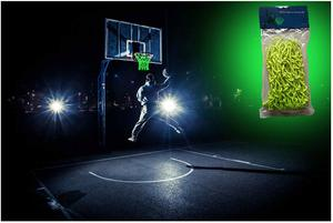 8. MCNICK & COMPANY Glow in The Dark Outdoor Basketball Net