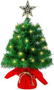 8. Sunnyglade Mini Christmas Tree