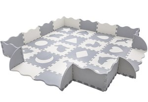 8. Superjare 36 Pieces Baby Play Mat