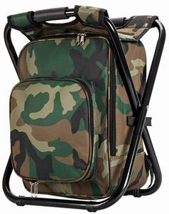 8. Upgraded Large Size 3 in1 Multifunction Fishing Backpack Chair