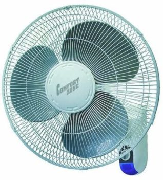 8.Comfort Zone Wall Mount Fan