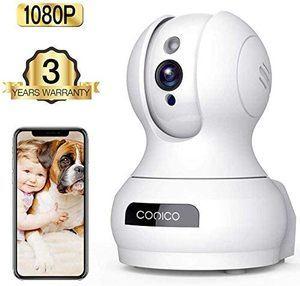 #9 Wireless Camera, 1080P HD WiFi Pet Camera Baby Monitor