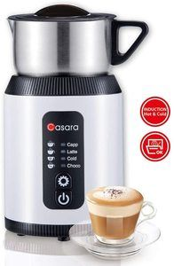 9. Casara Milk Frother,Electric Milk Frother and Steamer