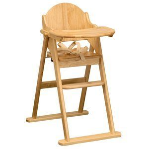 9. East Coast Folding High Chair