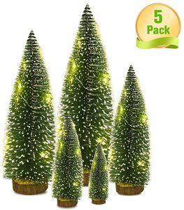 9. VOSTOR Mini Christmas Tree