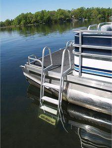 #1. Extreme Max 3005.3380 4-Step Boat, PontoonDock Ladder