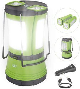 1. LE LED Camping Lantern Rechargeable, 600LM