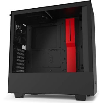 1. NZXT H510 - CA-H510B-BR - ATX Mid-Tower PC Gaming Case