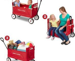 1. Radio Flyer 3-In-1 Ez Folding Wagon