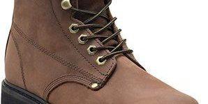 10. EVER BOOTSTank Men's Soft Toe Oil Full Grain Leather Work Boots
