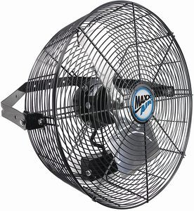 #10. Maxx Air Commercial Grade Wall Mount Fan
