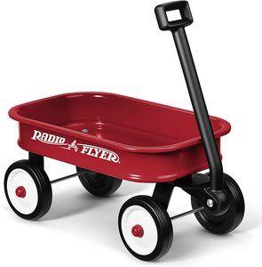 10. Radio Flyer Little Red Toy Wagon