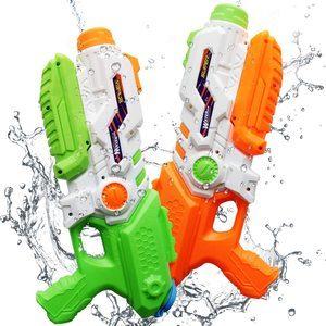 10. ToyerBee Water Gun for Kids, 2 Pack Squirt Guns