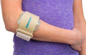 2. Aircast Pneumatic Armband ennis Golfers Elbow Support Strap