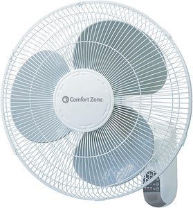 #2. Comfort Zone CZ16WR 16-inch Wall Mount Fan 3-Speed