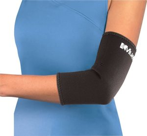 2. ELBOW SLEEVE NEOPRENE, BLACK (EA)