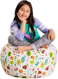 2. Posh Stuffable Kids Bean Bag Chairs