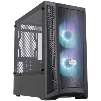 3. Cooler Master MasterBox MB311L ARGB Airflow Micro-ATX Tower