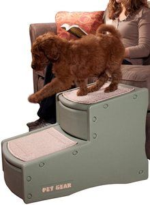 #3. Pet Gear Easy 2 Step for Dogs and Cats up to 150 Pounds