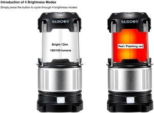 3. SUBOOS Ultimate Rechargeable LED Lantern