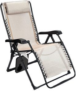 3. Zero Gravity Locking Lounge Chair 350lbs