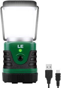 4. LE LED Camping Lantern Rechargeable, 1000LM