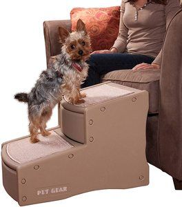 #4. Pet Gear 2 Step Easy II Pet Stairs for Dogs and Cats