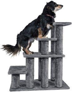#5. Furhaven Pet Stairs Multi-Step Furniture Stairs Ramp