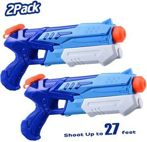 5. HITOP Water Guns for Kids, 2 Pack