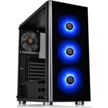 5. Thermaltake V200 Tempered Glass ATX Mid-Tower Chassis